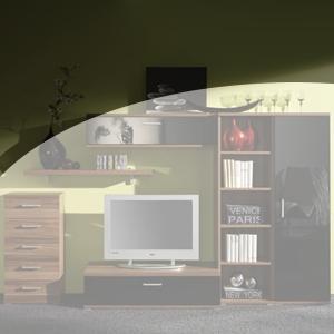 Wohnwand Planung modern2