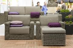 Ambiente Möbel und Deko in violett