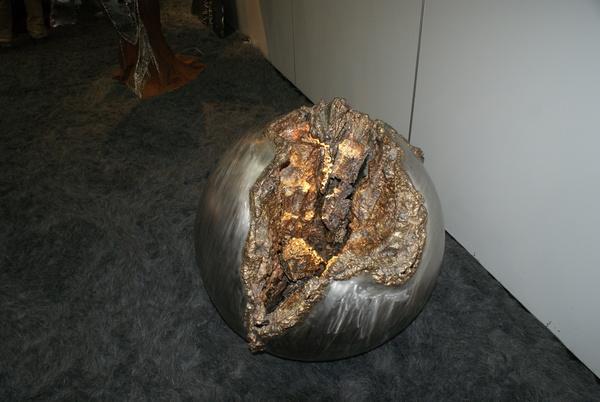 Messe Foto - Metalldeko - geschweißt