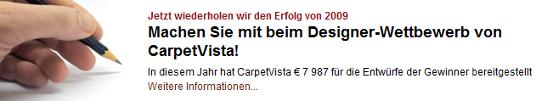 Carpetvista-Wettbewerb