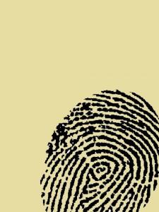 Fingerabdruck Teppich