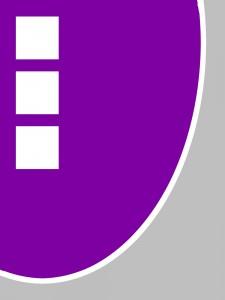 Modern Teppich - violett