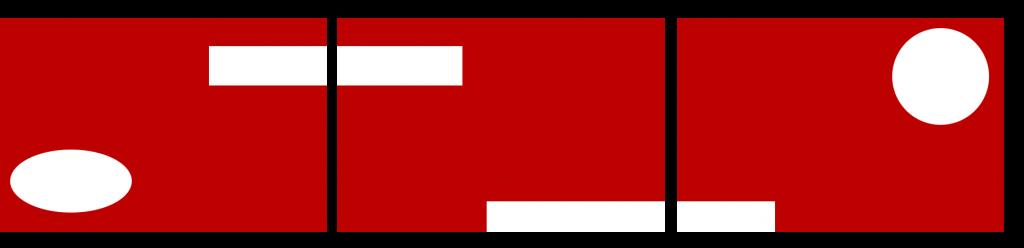 Teppiche Reihe - rot eckig