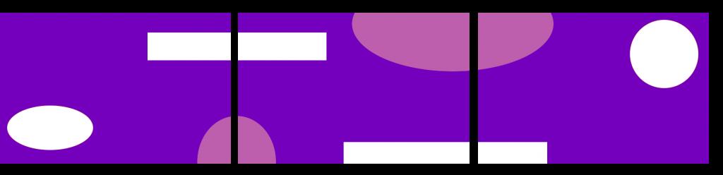 Teppiche Reihe - violett eckig