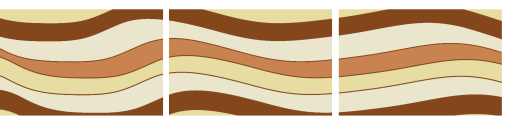 Teppiche Reihe Mokka