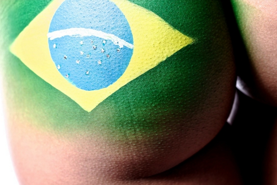 Brasilien Bodypainting - *fashion4home