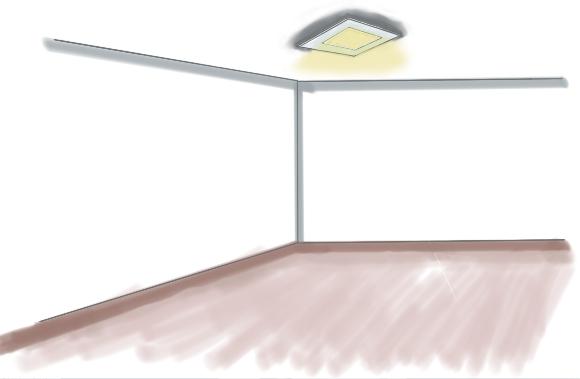 Direkte Beleuchtung - Deckenlampe