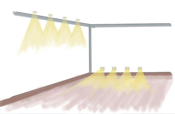 beleuchtungsarten im wohnraum effekte und. Black Bedroom Furniture Sets. Home Design Ideas