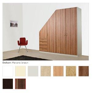 schr nke f r dachschr gen nach ma von meublement pictures. Black Bedroom Furniture Sets. Home Design Ideas