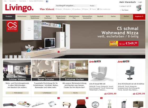 livingo onlineshop
